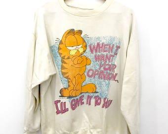 Vintage 80's Garfield Crewneck