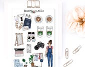 Blogger Babe Planner Stickers   Mystery Grab Bag July 2017   Blogging Stickers   Lifestyle Stickers   Fashion Blogger Stickers (MGB-JUL17)