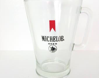 Vintage Michelob Beer Pitcher
