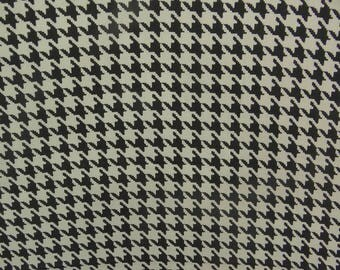 "Black Fabric, Off White Print, Dressmaking Fabric, Sewing Crafts, Decor Fabric, 38"" Inch Rayon Fabric By The Yard ZBR293A"