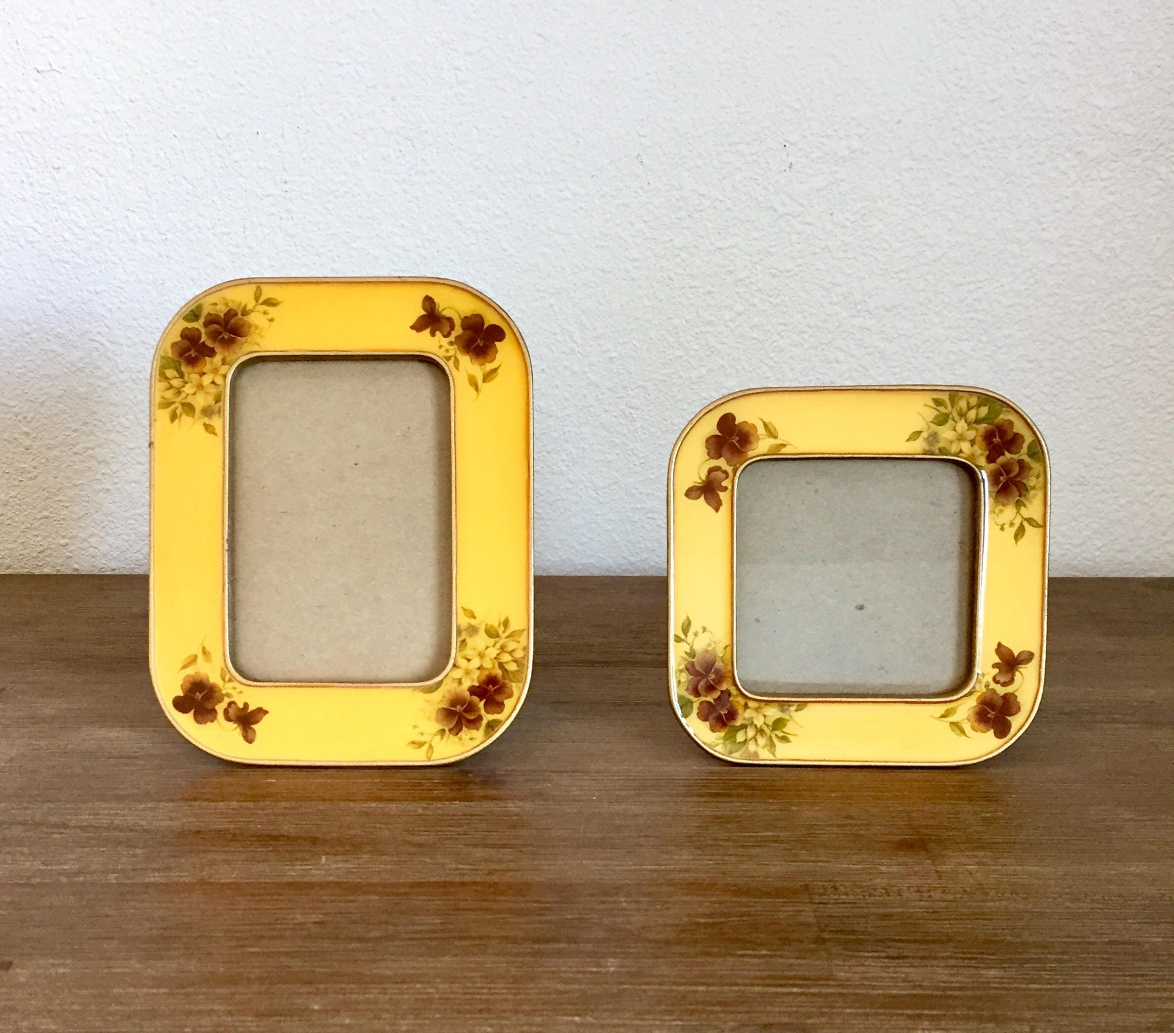 sold by speckadoos - Enamel Picture Frames