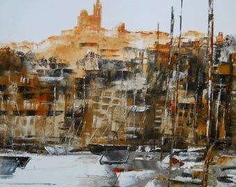 "Painting ""Marseille"""