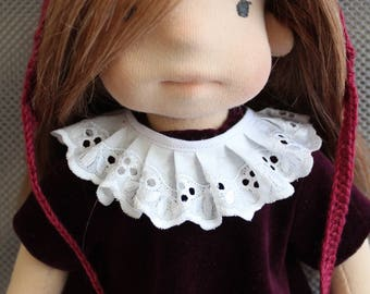"Waldorf doll style 42 cm\16.4"" Puppen Poupee Muneca Rag doll"