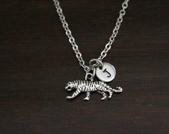 Tiger Necklace - Tiger Gift - Tiger Lover - Animal Lover - Cat Lover - Feline - Tiger Jewelry - Tigress Jewelry - I/B/H
