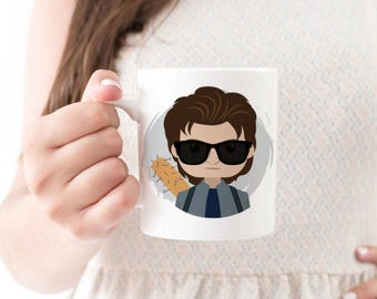 Steve Harrington Mug - Stranger Things Mug - Stranger Things Cup - Steve Stranger Things - Harrington Hair - Stranger Thing