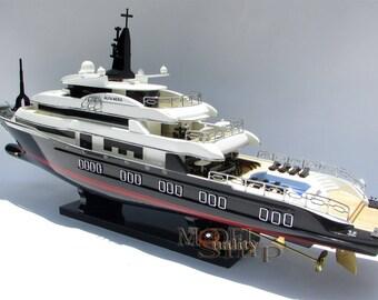 Alfa Nero Modern yacht Boat Model