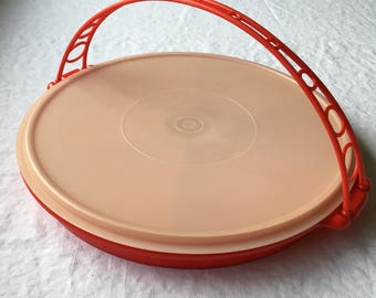 Vintage Tupperware Divided Party Tray