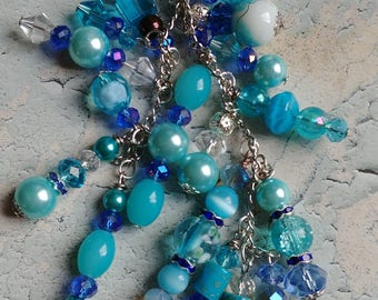 Blue Miracle Cluster Planner/Key Charm