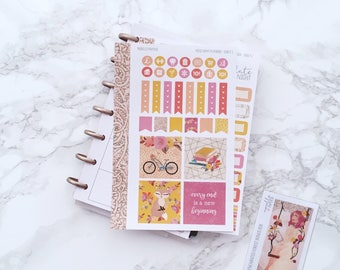 Enchanted Forest MINI Planner Sticker Kit - For Mini Happy Planners, Personal Inserts, TNs
