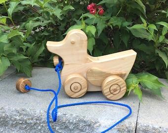 Alberto l'anatra // Tirare giocattoli // Albert the Duck Pull Toy