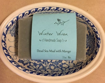 Dead Sea Mud with Mango Facial Bar formulated for oily skin