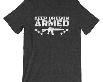Keep Oregon Armed tee