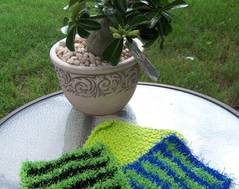 Lime Striped Kitchet Set - item 112