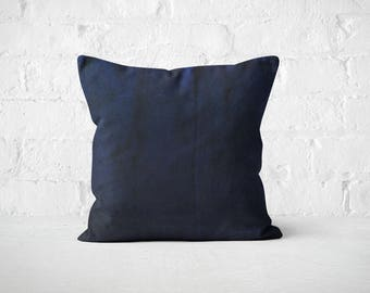 Navy Blue Throw Pillow/ Navy Velvet Pillow Cover/ Modern living room design/ Accent Pillow/ Sofa bed accent/ Decorative Pillow for couch