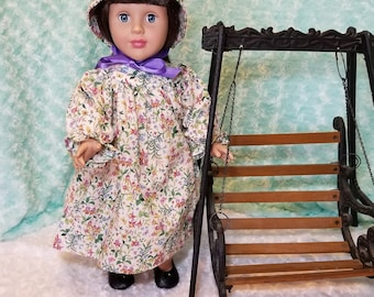 Prairie Dress and Bonnet - American Girl & Friends
