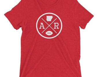 """Arkansas """"AR"""" Football Crossroads T-Shirt"""