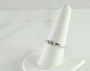 Sterling Stack Ring Size 8.5