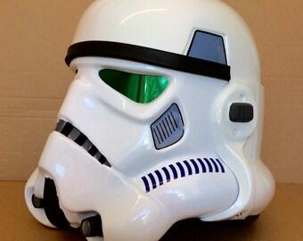 Star Wars stormtrooper helmet ANH / rogue one costume / prop. fully built.