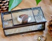 Clear and Jasper Glass Box
