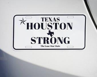 Houston Strong Hurricane Harvey Relief Sticker