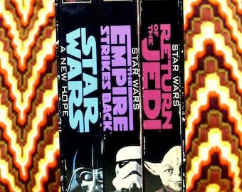 Star Wars Trilogy VHS Box Set - Original Trilogy 1995 THX Remastered Edition