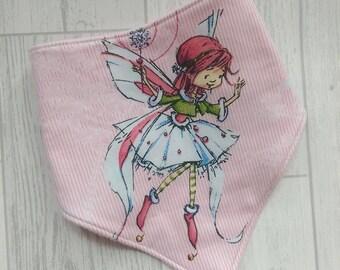 Ballerina Fairy Dribble Bib