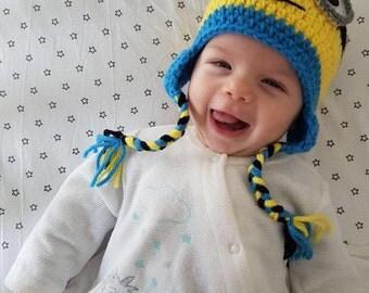 Crochet Hat minion