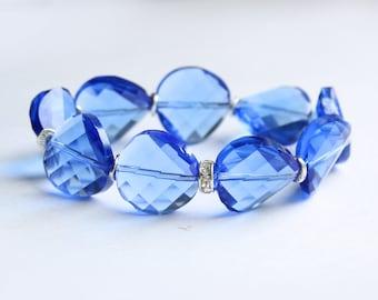 "Bracelet ""Blue Evening"""