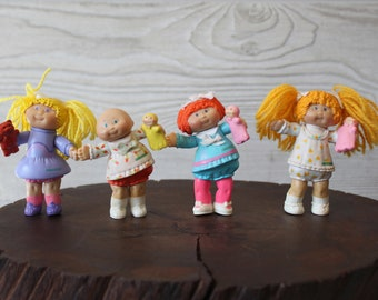 1984 Cabbage Patch Kids Poseable Figures