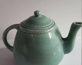 Greenish Tea Pot