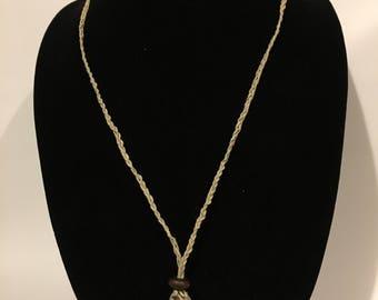 Braided Twine Necklace