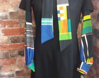1970s Funky Vintage dress size 12 UK