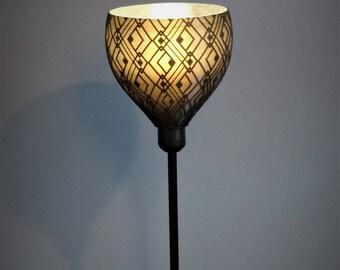 lampe suspension abat jour pendentif diamant en bois. Black Bedroom Furniture Sets. Home Design Ideas