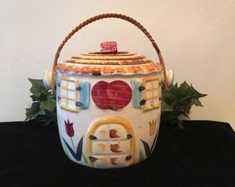1960's Ceramic Biscuit Jar