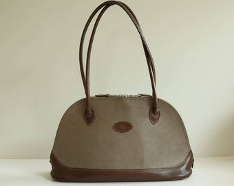Mulberry handbag/shoulder bag in grey scotch leather
