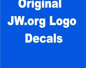 Set of 25 JW.org Promotion Decals BESTSELLER All Weather Proof! Perfect for car, mailbox, bag, tablet, on gifts. - Art.nr. 177