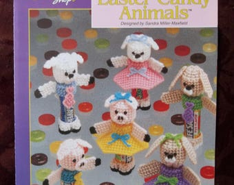 Easter candy animals booklet