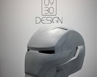 Iron Man Helmet MK 48 Raw Cast