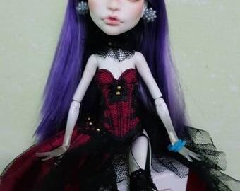 Monster High ooak Spectra Doll Repainted faceup
