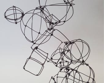 Method in Madness - a wire sculpture