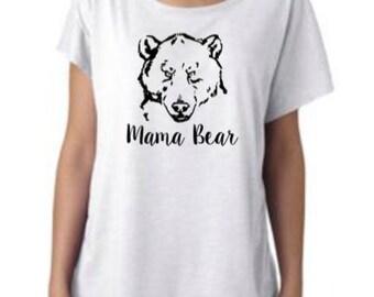 Mama Bear, Momma Bear, Mom Shirt, Mom Life, Mom Strong, Momma, Mother's Day Shirt