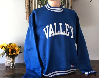 "Vintage ""Valley"" Champion Crewneck Sweatshirt - X-Large"