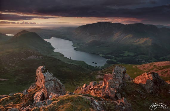 Crummock Water from Red Pike [Photographic Print]
