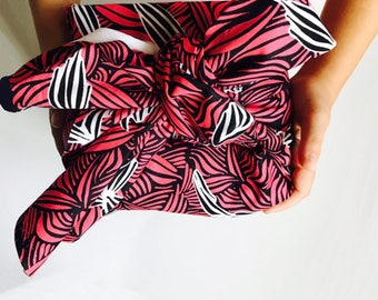 Furoshiki wrapping cloth / Rouge Burst Design