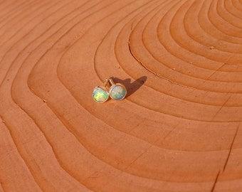 4mm opal studs
