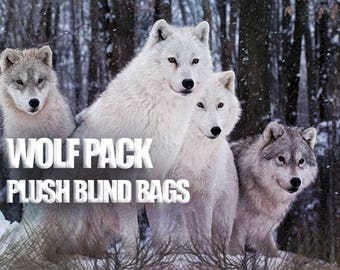 Wolf Pack PLUSH Blind Bags Elemental Pups