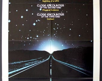 "Close Encounters of the Third Kind (1977) Original One-Sheet Movie Poster - 27""x 41"""
