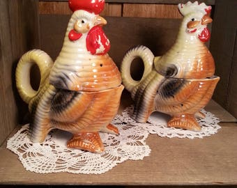 Chicken Salt and Pepper, Vintage Japan