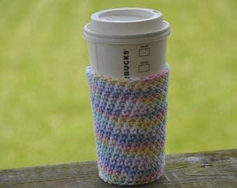 Reusable Coffee Cozy - Coffee Sleeve - Coffee Cozy - Crochet Coffee Sleeve - Eco Friendly Gifts - Reusable Coffee Sleeve - Coffee Cup Cozy