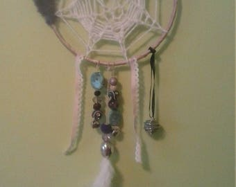 Madame Le  Rose Star Center Woven Dream Catcher